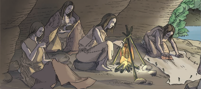 What was life like during the Stone Age  Unsworth