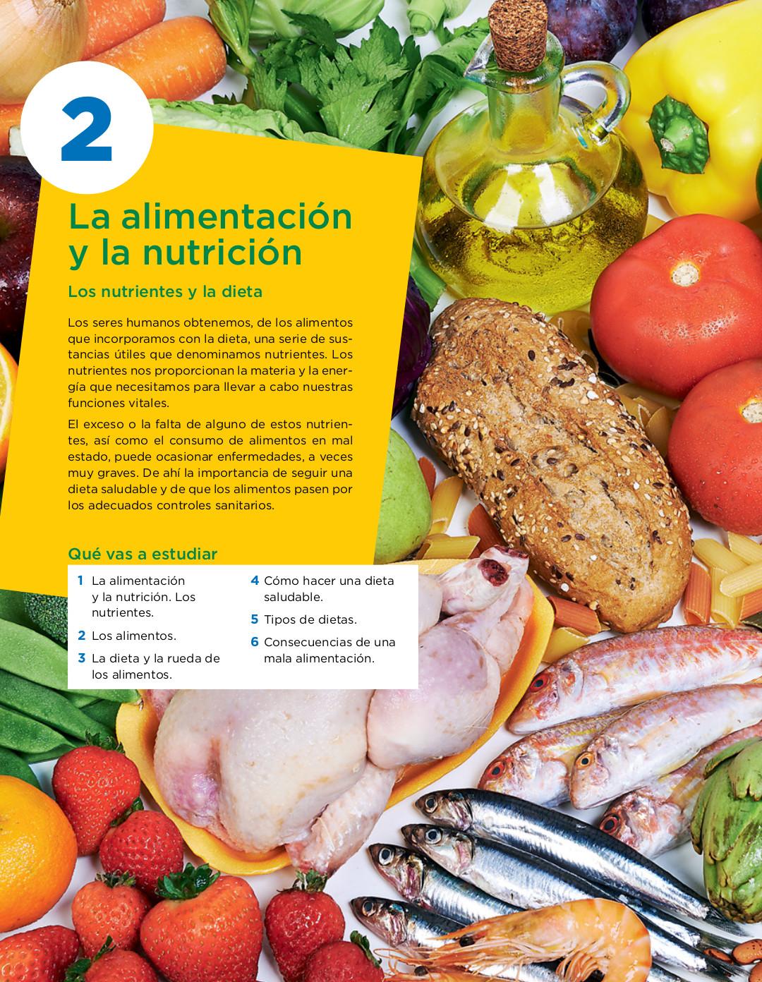 Como combinar los alimentos para una dieta saludable
