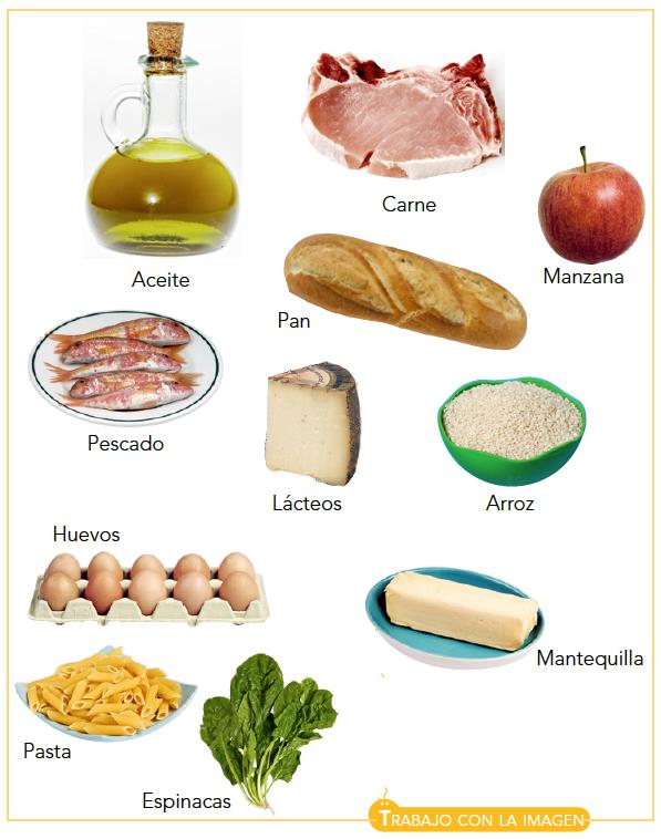 Alimentos que contienen sales y minerales