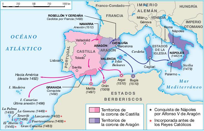 2 el inicio de la edad moderna en espa a y am rica for La politica exterior de espana