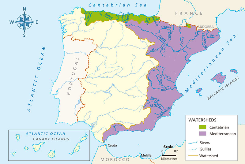 Blink Activity | BlinkLearning on spain and france map, spain fly fishing trout, spain map with cities,