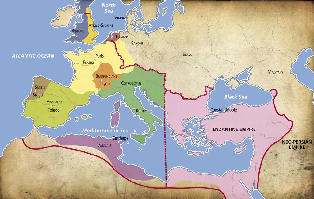 The Carolingian Empire Geography History History Middle Ages 2