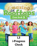 Amazing Rooftops Level 3 i-Progress check book