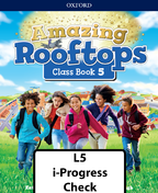 Amazing Rooftops Level 5 i-Progress check book