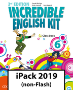 Incredible English Kit 6. Class Book iPack 2019 (non-Flash)