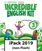 Incredible English Kit 3. Activity Book iPack 2019 (non-Flash)