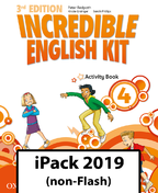 Incredible English Kit 4. Activity Book iPack 2019 (non-Flash)