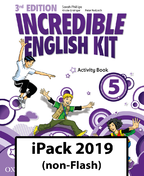 Incredible English Kit 5. Activity Book iPack 2019 (non-Flash)