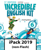 Incredible English Kit 6. Activity Book iPack 2019 (non-Flash)