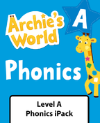 Archie's World Level A Phonics iPack