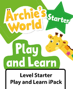 Archie's World Level Starter Play and Learn iPack