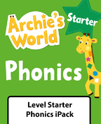 Archie's World Level Starter Phonics iPack