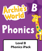 Archie's World Level B Phonics iPack