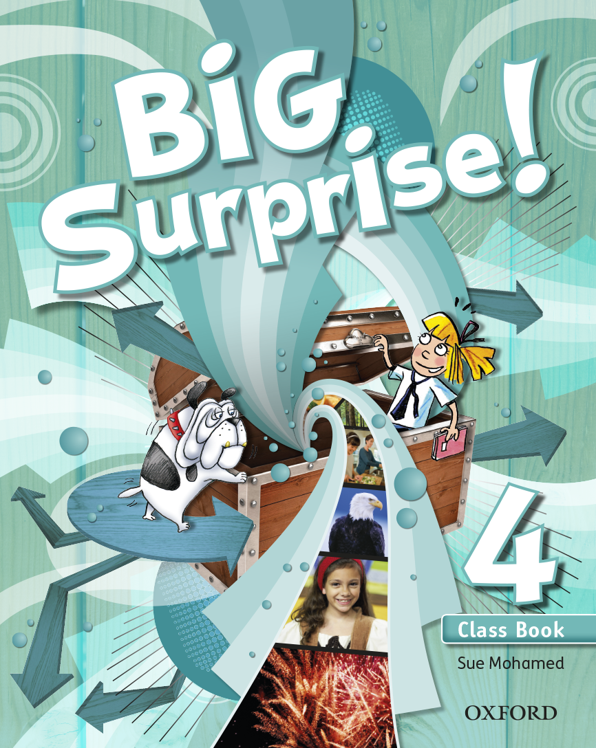 Big Surprise! 4 Class Book | Digital book | BlinkLearning
