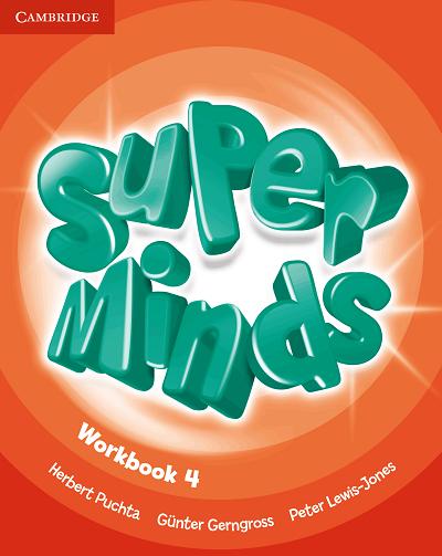 Super Minds 4 Workbook | Digital book | BlinkLearning