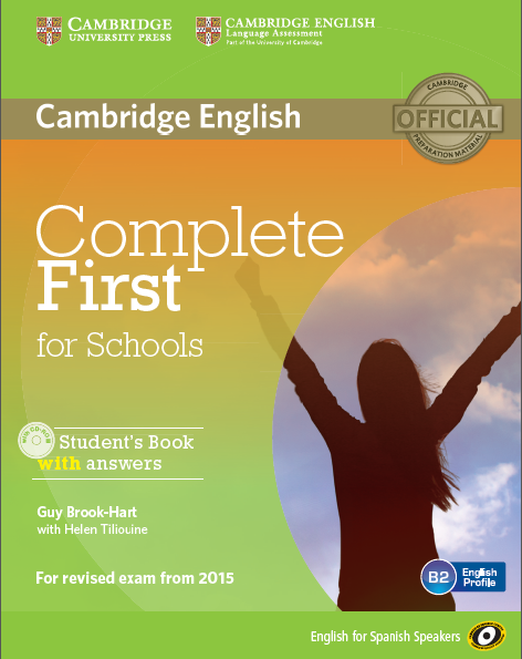 Complete First for Schools ESS, Student's Book