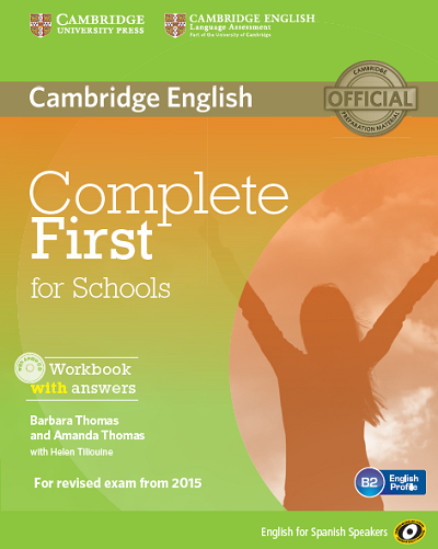 Complete First for Schools ESS, Workbook