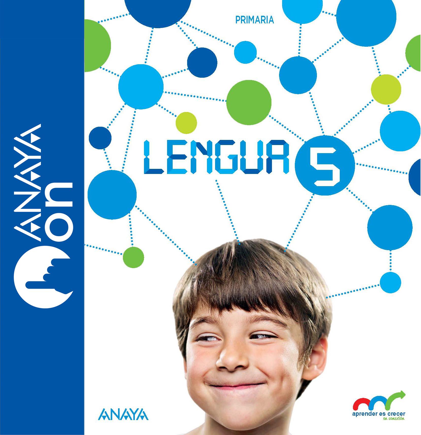 Resultado de imagen de libro lengua 5º anaya aprender es crecer