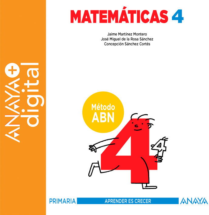 Matemáticas 4. Método ABN. Primaria. Anaya + digital   Digital book ...